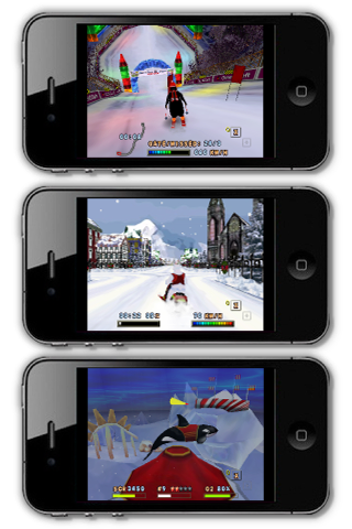 Screenshot 3D Winter Game Fantasy